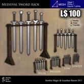 LOW PRIM - Medieval sword rack [G&S]