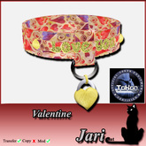 *JariCat*  Valentine Collar - Tokon