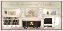 ~La'Licious~ Cottage Charm Media Center