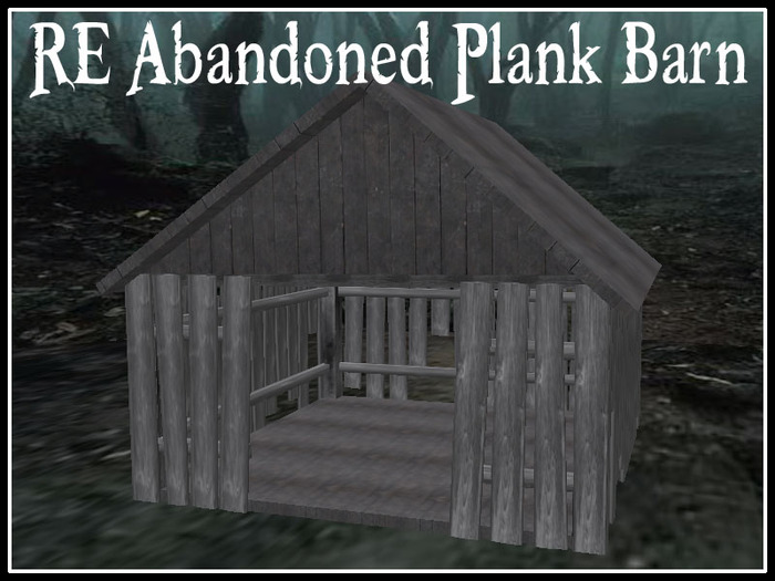 RE Abandoned Plank Barn - Old Worn Down Building