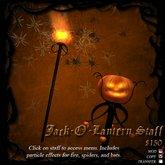 Jack-O'-Lantern Staff