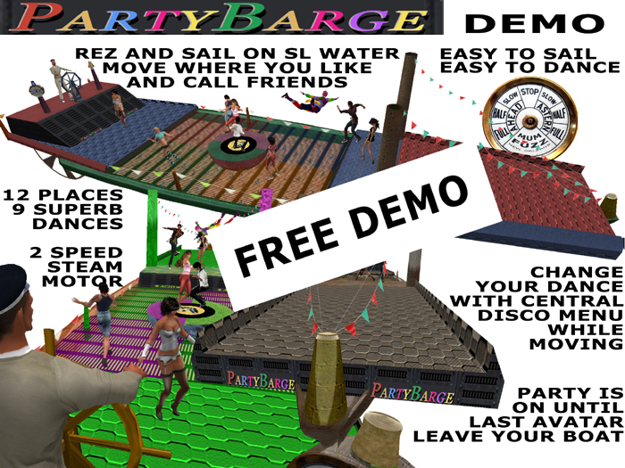 Party Barge  GIVE ME FIVE DEMOs