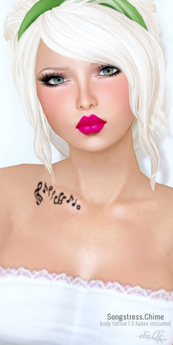 cheLLe (tattoo) Songstress;Chime
