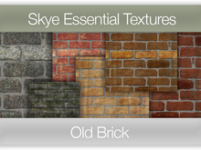 *Skye Essential Textures - 56 Old Brick -  Full Perms Brick Textures