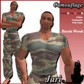 JariCat Camouflage Male Outfit - RussiaWoods