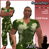 JariCat Camouflage Male Outfit - USSRWoods