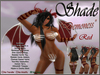 "!SHADE! ""Demoness"" Red n"