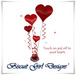 Balloon Bouquet ~ Romantic Red I Love You Hearts