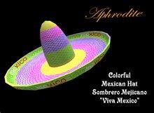 Viva Mexico Hat (boxed)