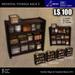 LOW PRIM - Medieval storage rack 2 [G&S]