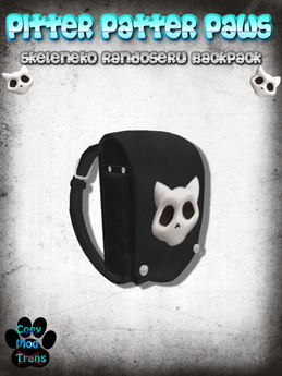 Pitter Patter Paws - Skeleneko Randoseru Backpack