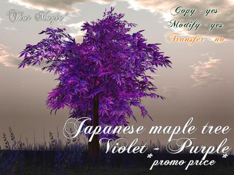 Second Life Marketplace Thus Magic Japanese Maple Tree