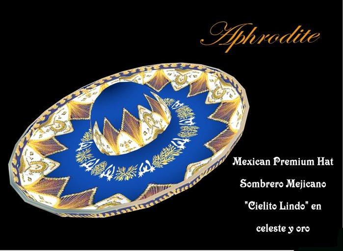 Cielito Lindo Mexican Hat -Sombrero- (boxed)