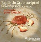 Random walking Crab  ★(`'·. bizarre bazaar .·'´)★