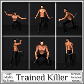 Magnifique - Trained Killer (Single Poses)