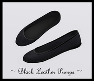 @ ! Bliss Designs ~  Sexy Women's Leather Shoes ~ Black Leather Pumps ~ They Go Great With Everything