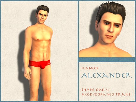 Kanon Male Shape - Alexander