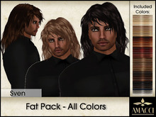 Amacci Hair ~ Sven - Fat Pack All Colors