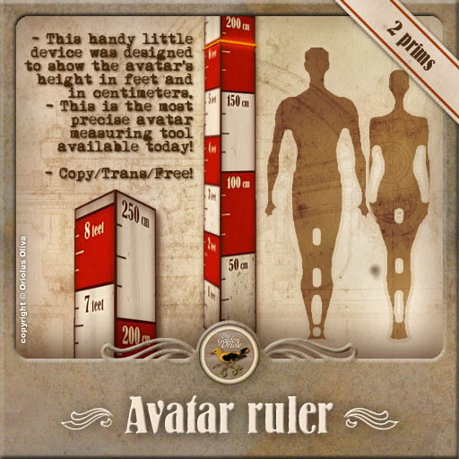 [OO] Avatar Ruler - precise height detector