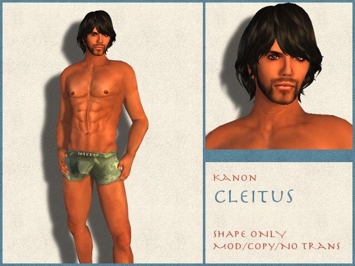 Kanon Male Shape - Cleitus