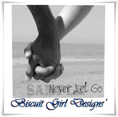 Card ~ Never Let Go Love Greetings Card ~I Love You
