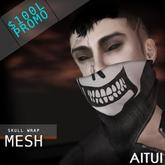 AITUI - *MESH* - Skull Wrap [Unisex]