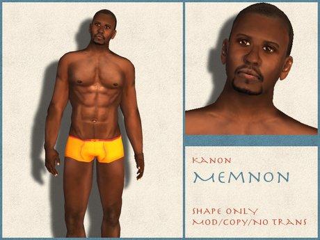 Kanon Male Shape - Memnon DEMO