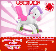 Sweet Baby - Ride n' Roll  Pony [Tiny Tot & Regular]