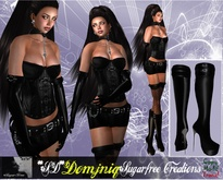 PROMOTIONAL OFFER **SD** -XX Domjniq Extreme Complete Outfit for women (Copy/Mod)