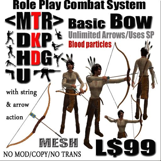 <MTR> Basic Bow & Arrow