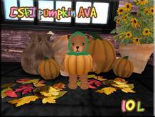 [SF] MIRI Bear pumpkin AVA(tiny,avatar)