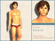 Kanon Male Shape - Paris