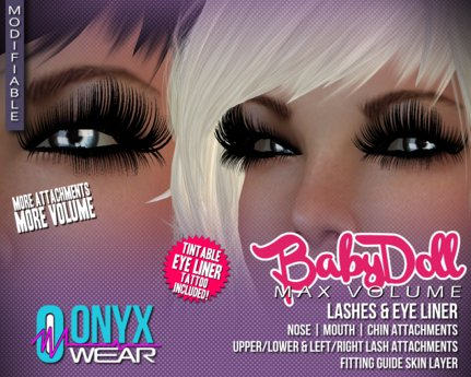 :OW: Babydoll MAX Volume Lashes
