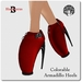 Blackburns Armadillo Heels Colorable