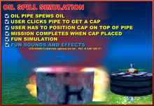 FREE Fire Centaur's Oil Spill Simulation 10L