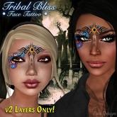 ::Para Designs:: Tribal Bliss Face Tattoo