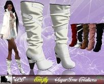 **SD** Emjly Casul middle Ankle large Heel Camperos Fatpack