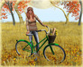 {what next} Summertime Bicycle Pose Prop