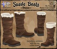 *LightStar - Suede Boots-Brown