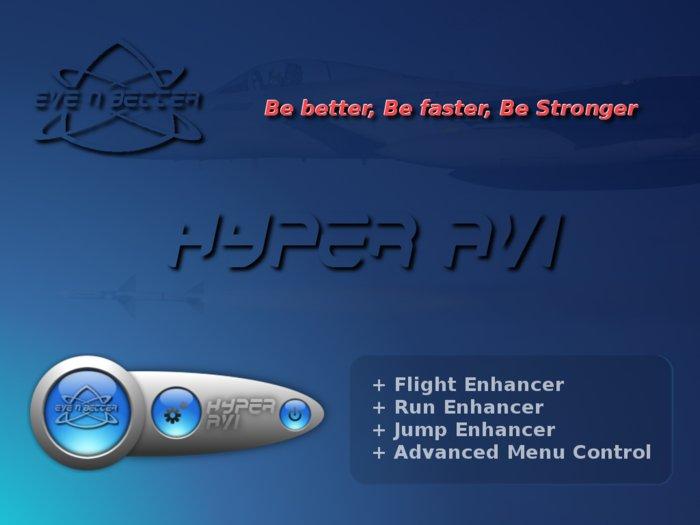 Hyper AVI HUD +SPEED +POWER +FLIGHT