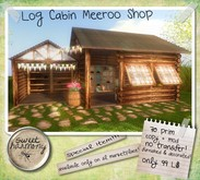 [SH] Log Cabin Meeroo Shop - Special Marketplace