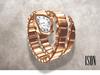 ISON - vipera watch (amber)