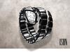 ISON - vipera watch (onyx)