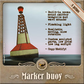 [OO] Marker Buoy with ocean sound emitter