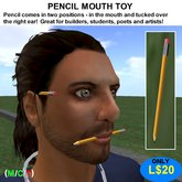 Pencil Mouth Toy (Boxed)