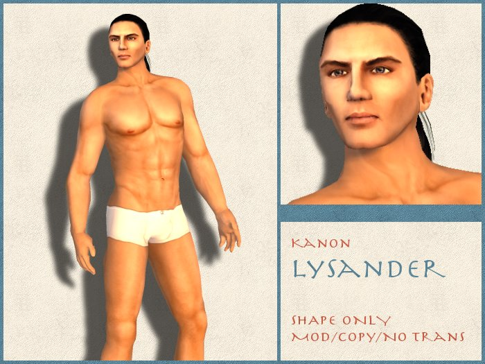Kanon Male Shape - Lysander