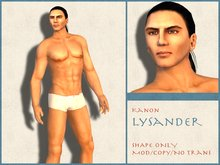 Kanon Male Shape - Lysander