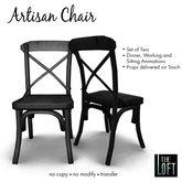 The Loft - Artisan Chair Black Oak