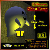 Halloween Ghost Lamp
