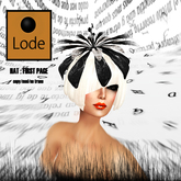 *LODE* Hat - First Page